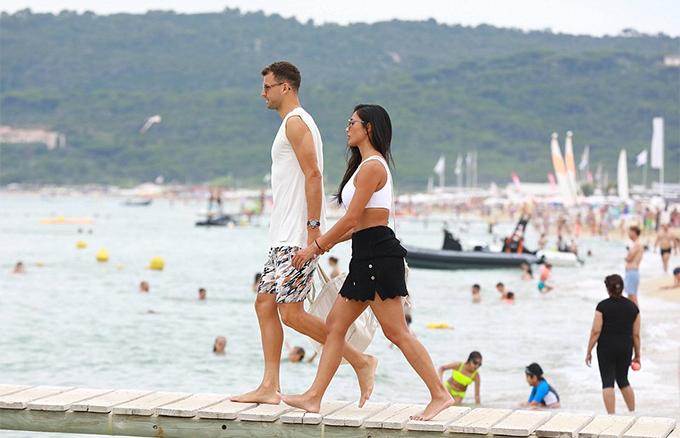 Cuộc tình giữa Dimitrov vàNicole gặp không ít sóng gió vì yêu xa nhưng cặp đôi vẫn vượt qua và bên nhau suốt ba năm qua.