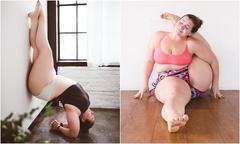 'Dành cả thanh xuân để giảm cân', cô nàng ngoại cỡ thay đổi cuộc sống nhờ yoga