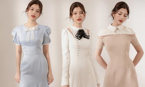 Váy đi tiệc cho bạn gái yêu phong cách thanh lịch