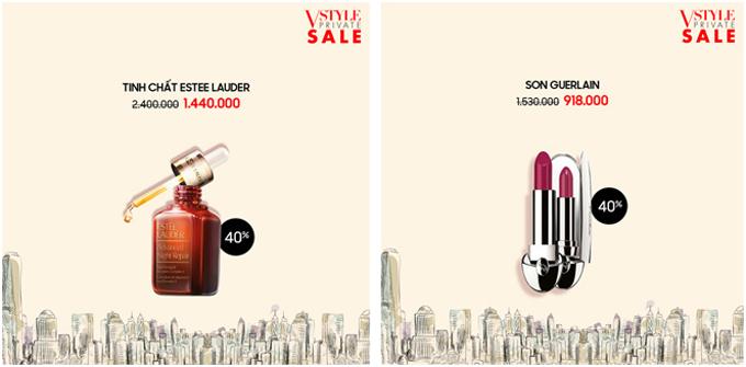 Sự kiện cũng mang đến nhiều sản phẩm mỹ phẩm được ưa chuộng trên thế giới với mức giảm giá một nửa.