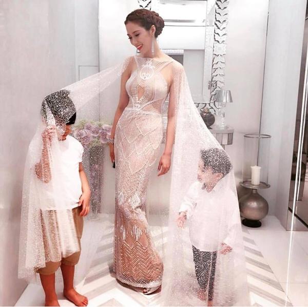 Cô dâu nghìn tỷ Từ Tử Kỳ tiết lộ bí quyết lấy lại dáng sau khi sinh 4 con - 6