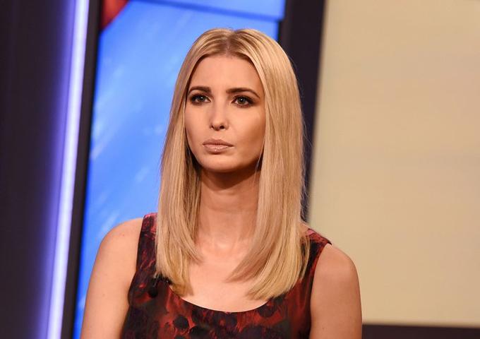 Cùng với chồng, Ivanka Trump hiện đảm nhận vai trò cố vấn cấp cao cho Tổng thống Mỹ Donald Trump.