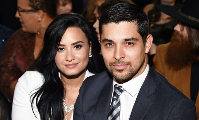 Demi Lovato và Wilmer Valderrama.
