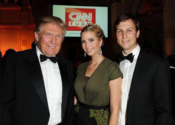 Anh trai của Joshua Kushner bên vợ, Ivanka Trump và tổng thống Trump.