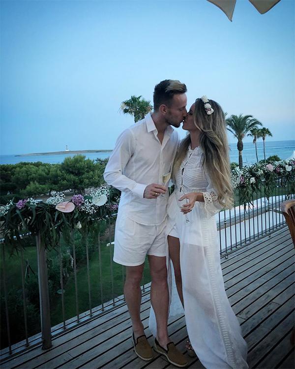 Cặp đôi tổ chức đám cưới vào năm 2013.