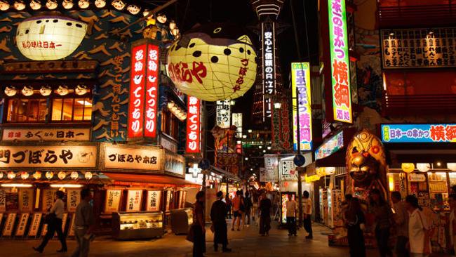Đồ ăn, shopping, cảnh đẹp... gì gì Osaka đều có - 1