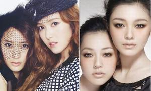 6 cặp chị em quyền lực của làng giải trí Hoa - Hàn