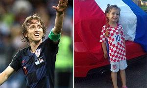 Lá thư cảm động của Modric gửi đáp cô gái 5 tuổi bị ung thư