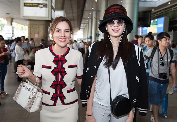 Nong Poy cho biết cô sẽ Việt Nam 2 ngày để dự sự kiện mừng Hoa hậu Phương Lê trở thành đại sứ một thương hiệu mỹ phẩm và đi tham quan, thưởng thức ẩm thực ởSài Gòn.