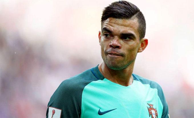 Pepe và nhiều đồng đội ở Real Madrid bị cáo buộc trốn thuế. Ảnh: NN.