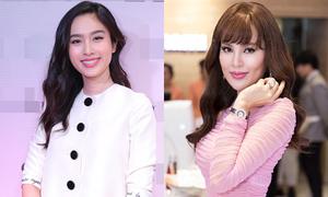 Hoa hậu Phương Lê đeo nhẫn 20 tỷ đi tiệc với sao chuyển giới Nong Poy
