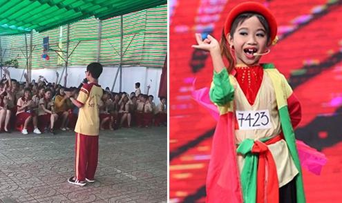 'Cậu bé Thị Mầu' Đức Vĩnh cover hit của Hương Tràm