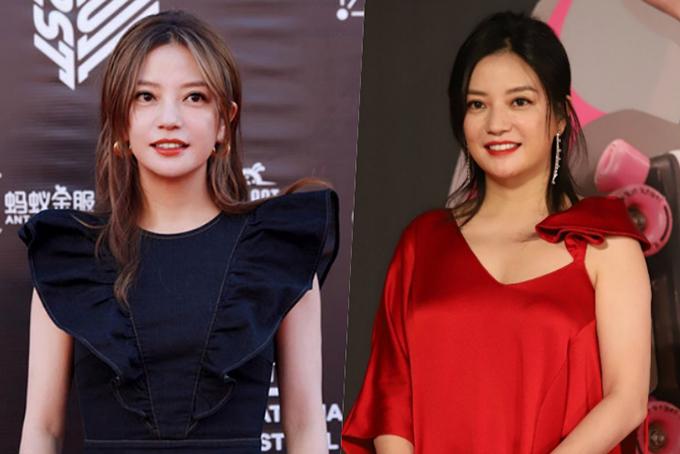 Gái một con Triệu Vy được khen xinh hơn hẳn nhờ nỗ lực giảm cân. Chỉ cách đây 3 tháng, cô vẫn xuất hiện với thân hình mũm mĩmtrên thảm đỏ lễ trao giải Kim Tượng (ảnh phải).