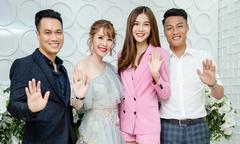 Dàn sao chúc mừng Việt Anh, Quế Vân lấn sân kinh doanh