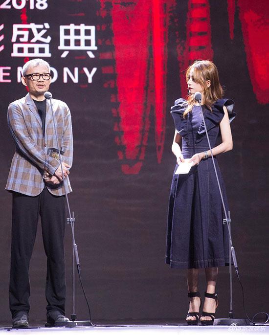 Cô đảm nhận vai trò người trao giải tại liên hoan phim.