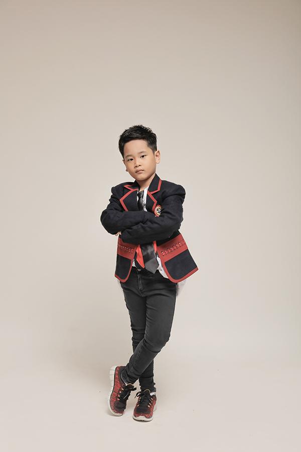 Trang phục cá tính cho bé trai - 2