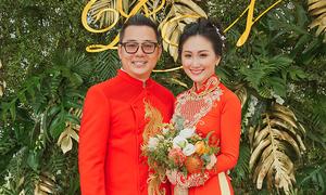 Đám hỏi, tiệc cưới lấy cảm hứng từ rừng nhiệt đới của người đẹp Thanh Nhàn