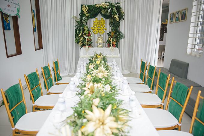 Cô dâu muốn gửi gắm bầu không khí yên tĩnh, thanh bình của một hòn đảo thiên đường tới khách mời.