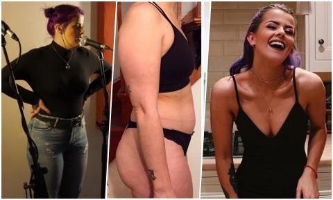 Bị bạn trai chê quá béo, cô gái Anh giảm gần 20 kg, 'lột xác' quyến rũ