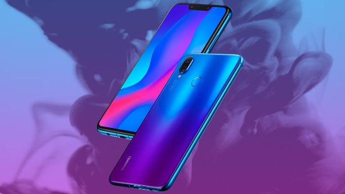 Mặt lưng Nova 3i có hiệu ứng chuyển màu độc đáo, gây ấn tượng người dùng. Ảnh: Huawei.