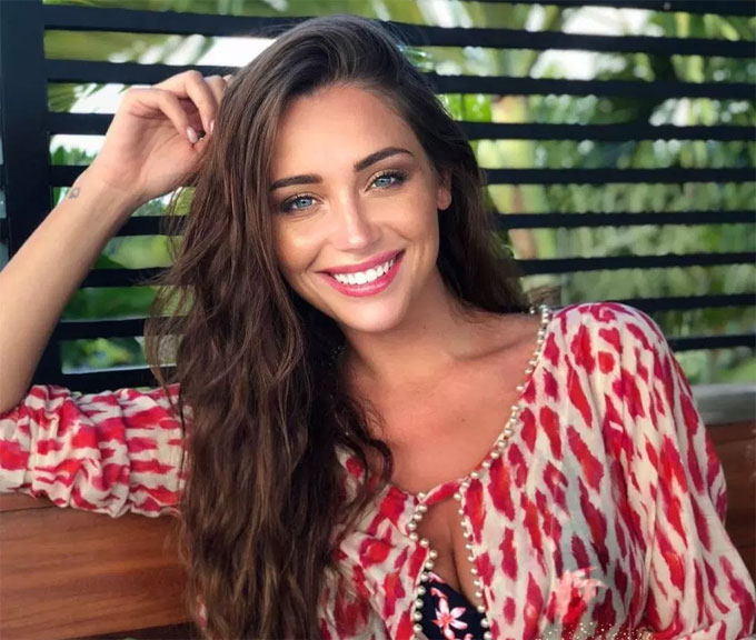 The gorgeous Monaco-born beauty was second runner-up for Miss France 2015, is a TV star and her granddad was legendary manager, Louis Pirroni