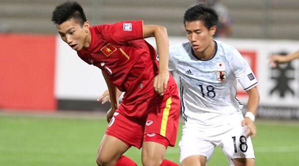 U19 Việt Nam từng thua lứa U19 Nhật Bản năm 2016. Ảnh: NN.