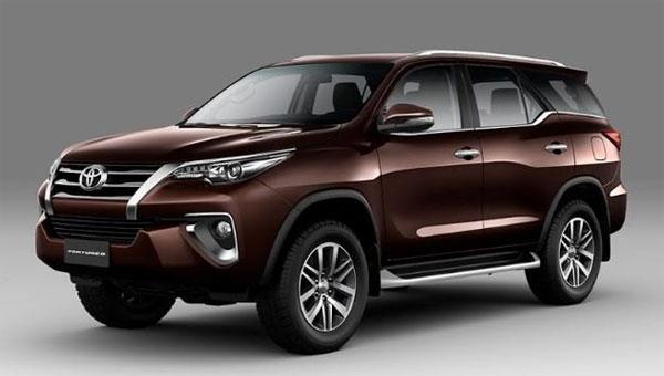 Toyota sắp bán loạt xe mới tại Việt Nam