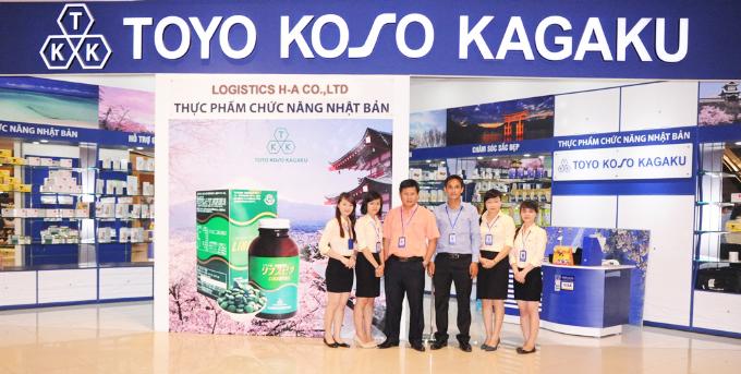 Công ty Lập Đức và Logistics H-Aphân phối nhiều sản phẩm hỗ trợ sức khỏe người dùng.