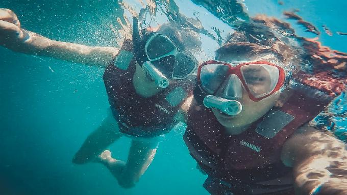 tham gia vào các trải nghiệm biển không thể bỏ qua tại Sun World Hon Thom Nature Park như lặn ngắm san hô, chèo thuyền kayak&