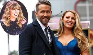 Vợ chồng Ryan Reynolds hò hét trong đêm nhạc của Taylor Swift