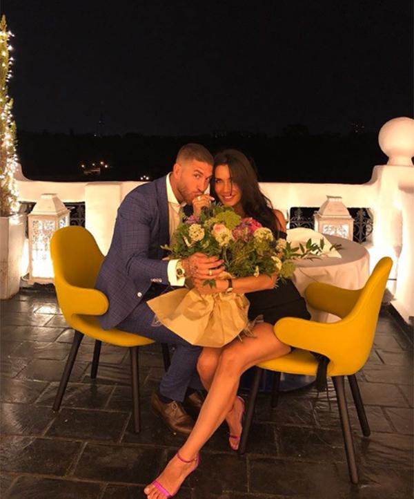 Trong kỳ nghỉ ở Hy Hạp, Ramos ngỏ lời cầu hôn với Pila và được cô đồng ý. Cặp đôi gắn bó với nhau từ năm 2012 và có ba đứa con trai.