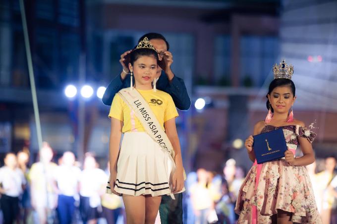 Nguyễn Ngọc Trang Anh chính thức đăng quang Hoa hậu nhí Châu Á Thái Bình Dương 2018 - 1