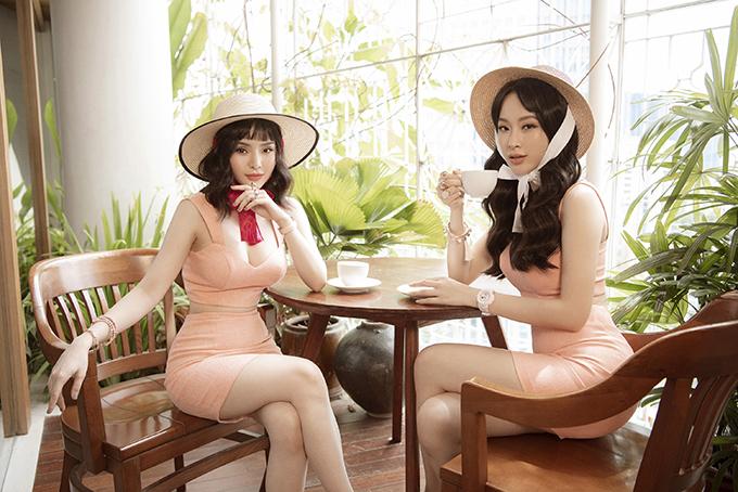 Angela Phương Trinh cho biết, đây là lần đầu tiên em gái của mình lấy hết can đảm lên bản vẽ và thiết kế quần áo.