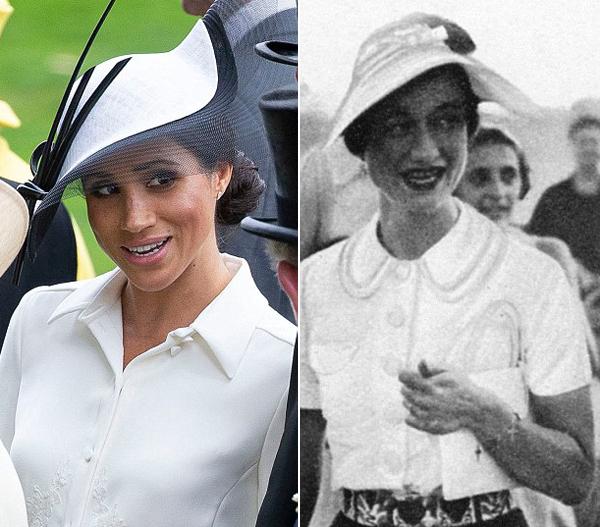 Cả hai cùng yêu thích váy của thương hiệu Givenchy và diện đồ của nhà may nàytrong nhiều sự kiện hoàng gia. Ảnh: UK Press.