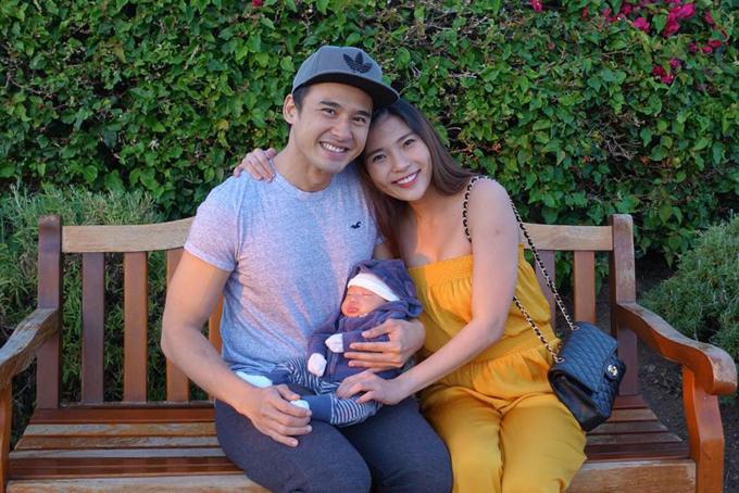 Lương Thế Thành - Thúy Diễm kết hôn từ tháng 4/2016 sau 3 năm hẹn hò. Từ khi biết vợ mang thai, nam diễn viên luôn quan tâm, chăm sóc và nghỉ diễn nhiều tháng để ở bên cô.