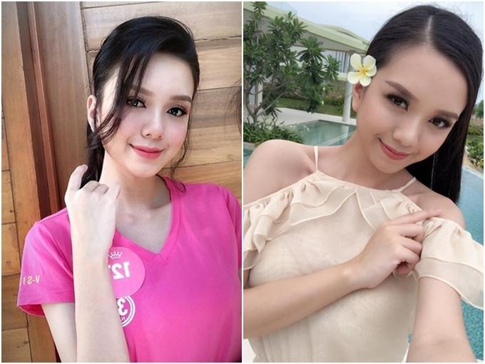 Nhan sắc của em gái Vũ Hoàng Điệp vào chung kết Hoa hậu VN 2018 - 3