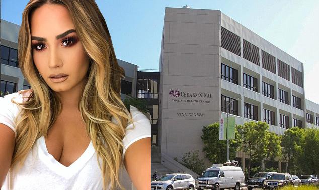 Demi Lovato được điều trị ở bệnh viện tại Los Angeles.
