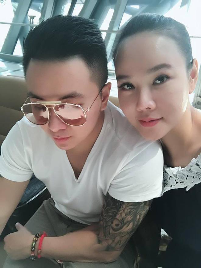 Dương Yến Ngọc và bạn trai khi còn hạnh phúc.