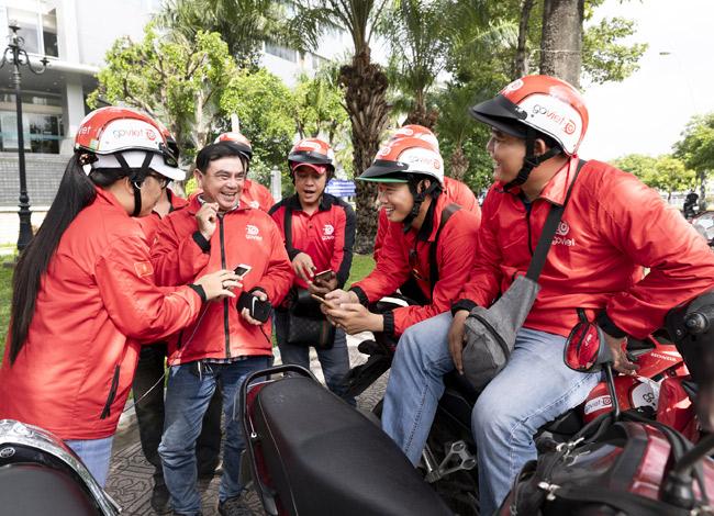 Các tài xế Go-Việt chia sẻ trải nghiệm sử dụng ứng dụng đặt xe.