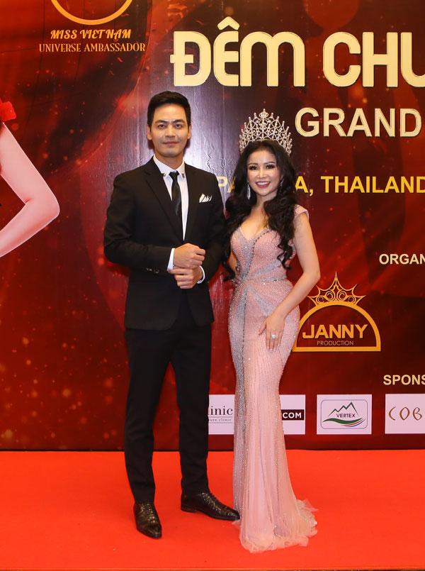 Hoa hậu Janny Thủy Trần  người đưa cuộc thi Hoa hậu Đại sứ Hoàn vũ Người Việt 2018 đến thành công tốt đẹp - 1