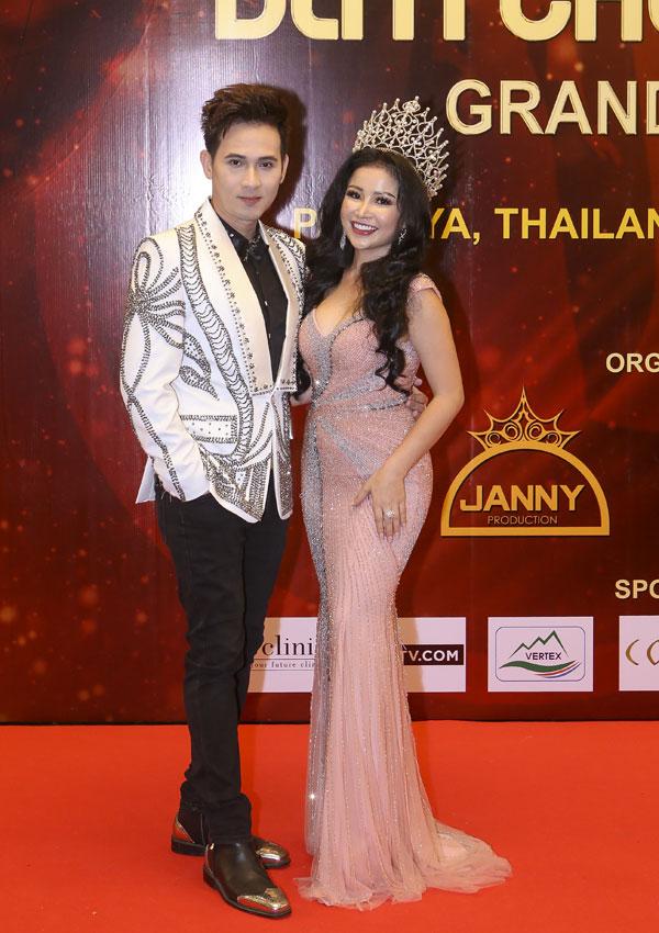 Hoa hậu Janny Thủy Trần  người đưa cuộc thi Hoa hậu Đại sứ Hoàn vũ Người Việt 2018 đến thành công tốt đẹp - 2
