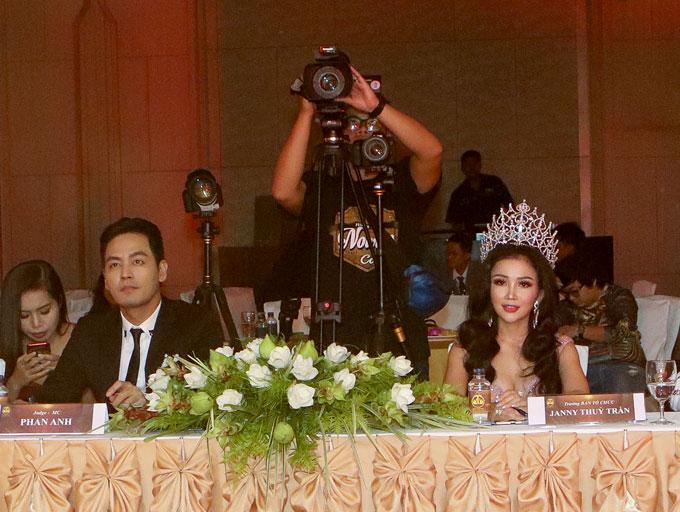 Hoa hậu Janny Thủy Trần  người đưa cuộc thi Hoa hậu Đại sứ Hoàn vũ Người Việt 2018 đến thành công tốt đẹp - 3