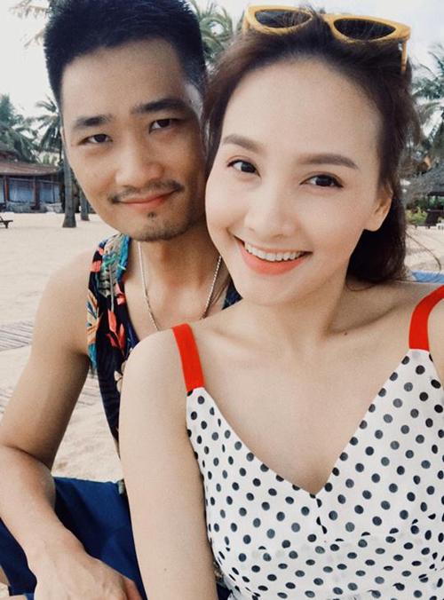 Giữa lịch làm việc dày đặc tháng này, Bảo Thanh và ông xã vẫn dành ra một khoảng thời gian riêng tư để cùng nhau đi du lịch Hội An và Đà Nẵng.