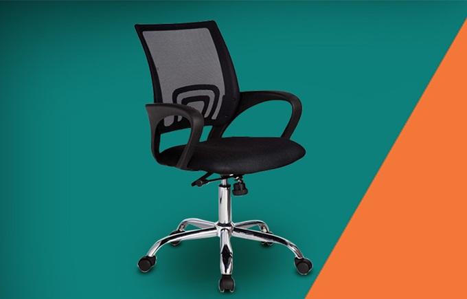 Nội thất IBIEhiện đại giá từ 399.000 đồng. Ghế xoay văn phòng PV505 là loại phổ biến, giá rẻ và phù hợp với cả không gian văn phòng và nhà ở.