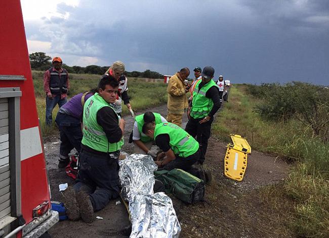 Theo Bộ trưởng giao thông của Mexico, trên chiếc máy bay rơi có 97 hành khách và 4 thành viên phi hành đoàn.
