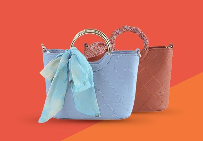 Túi thời trang Verchiniđồng giá từ 120.000 đồng. Thương hiệu Italyđược làm từ chất liệu da, da tổng hợp mới, siêu bền với các mẫu mã và màu sắc đa dạng.