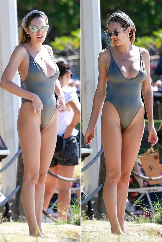 Thiên thần nội y của Victorias Secret đã quyết định sinh liền hai con trong vòng 3 năm. Candice luôn về lại vóc dáng nhanh chóng sau cả hai lần sinh dù mang bầu khá to.