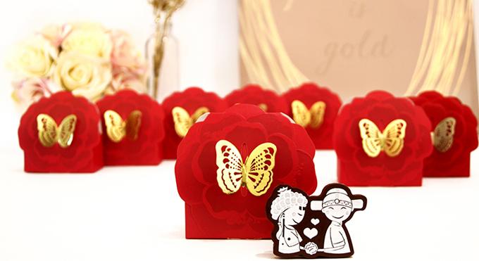 Những món quà đáp lễ ngày cưới không đụng hàng - 4