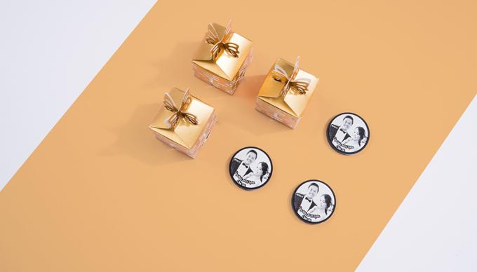 Những món quà đáp lễ ngày cưới không đụng hàng - 5