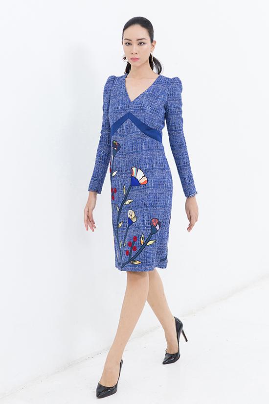Váy có kiểu dáng hiện đại, dễ sử dụng cũng được chú trọng để tránh làm khó các bạn gái trong việc chọn đồ phù hợp vóc dáng.
